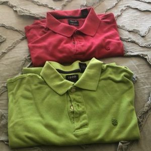 IZOD Polos Cherry and Green 2